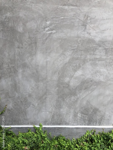 Tuinposter Betonbehang grey stucco or concrete wall background with copy space for text