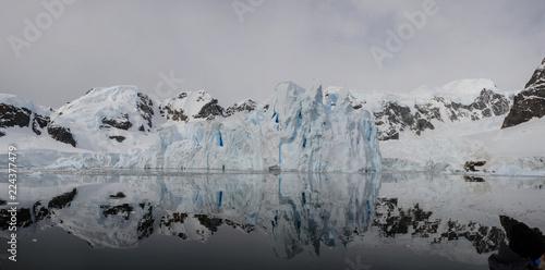 Spoed Foto op Canvas Antarctica Glacier in Antarctica