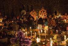 Cemetery In Janitzio Michoacan...