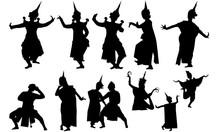 Traditional Thai Dance Svg, Da...