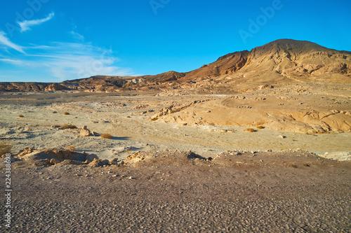 Staande foto Afrika Rocky landscape of Sinai desert, Egypt