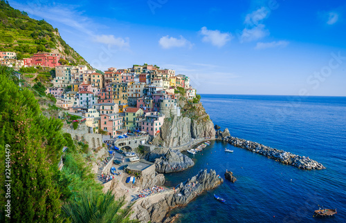 In de dag Mediterraans Europa Cinque terre Liguria