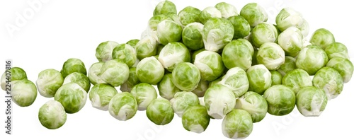 Fotografia  A bunc of brussel sprouts