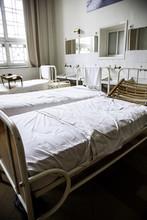 Old Hospital Beds