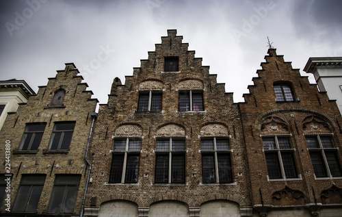 Ancient houses of Bruges