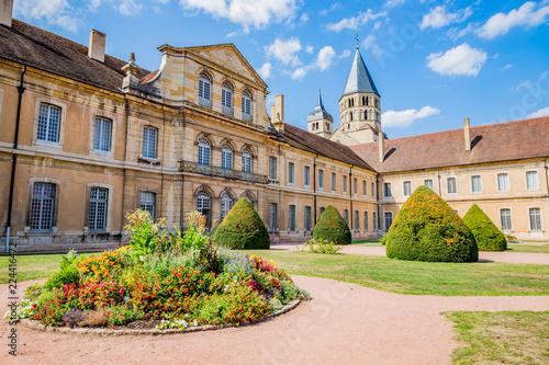 Poster Jardin Abbaye de Cluny et jardins