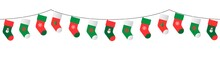 Christmas Stockings Garland