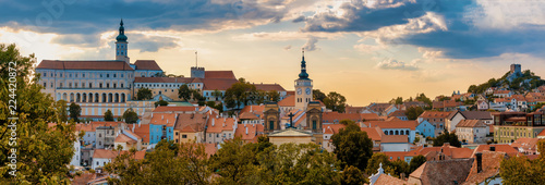 Photo  Mikulov city and castle, Czech Republic