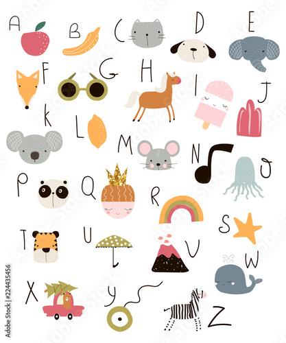 dzieciecy-alfabet-z-kolorowymi-ikonami-nauka-liter