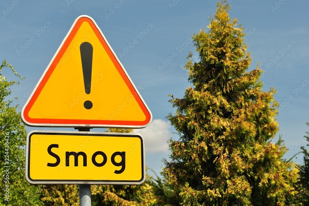 Fototapeta Uwaga smog