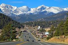 Estes Park, Colorado Is The Ga...