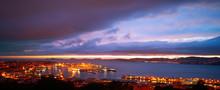Vigo Skyline And Port Sunset I...