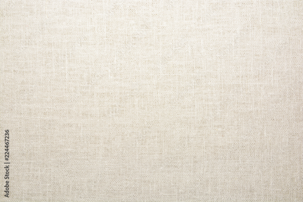 Fototapety, obrazy: Texture of natural linen fabric