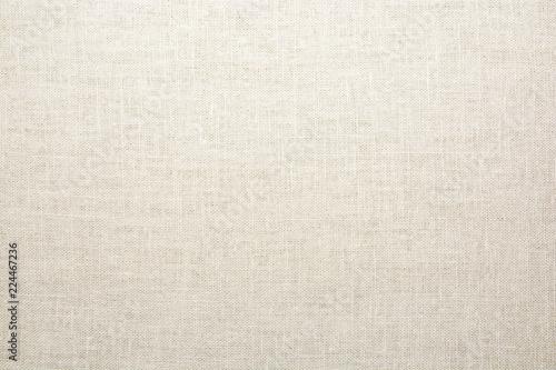 Poster Tissu Texture of natural linen fabric