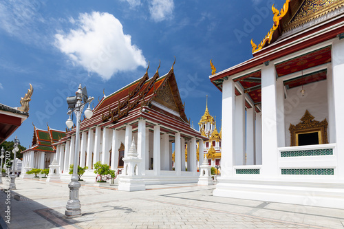 Photo  Loha Prasat Matal Palace in Wat Ratchanaddaram Worawihan is one of the best know