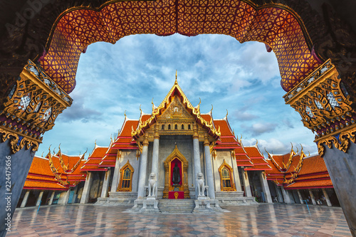 Wat Benchamabophit or Marble Temple is a Buddhist temple in the city of Bangkok,Thailand