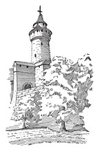 Feudal Castle Tower, Defensive...