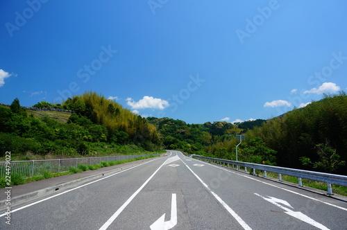 Fotografía  田舎の道路
