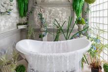 Studio Bathroom With Beautiful...