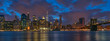 New York night cityscape
