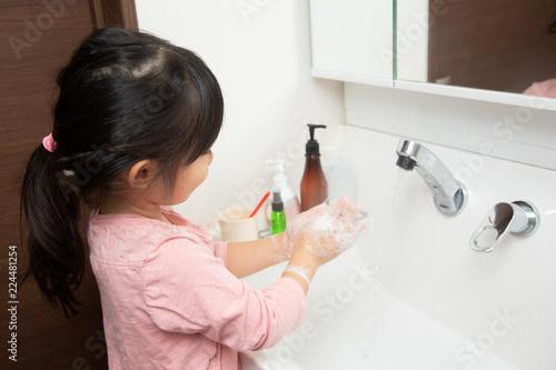 Fotografia  手を洗う子ども