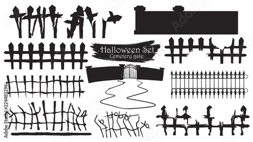 Gate Clipart Cemetery Gates - Gate Clipart - Png Download (#318287) -  PinClipart