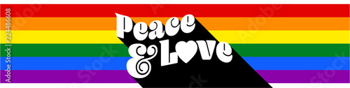 Photo  Peace and love