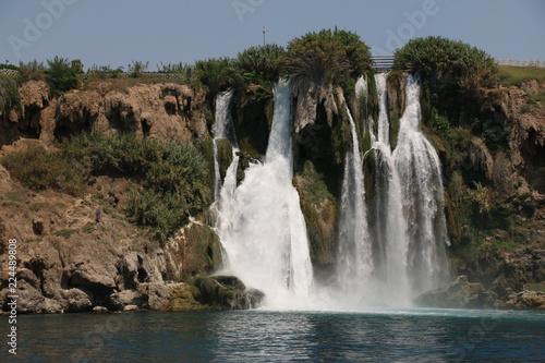 Poster Watervallen waterfall