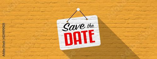 Fototapeta Save the date obraz na płótnie