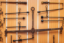 Several Old Lever Steelyards H...