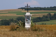 Wayside Cross, Poland, Woj. Podkarpackie_1-1