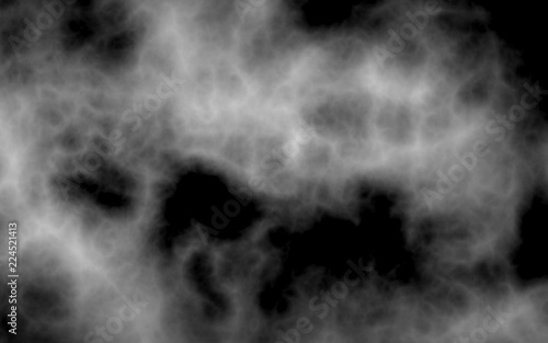 Fotobehang Rook Background of abstract gray color smoke. The wall of gray fog. 3D illustration