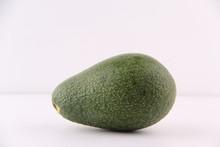 Avocado Isolated On White Back...