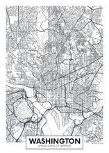 City Map Washington, Travel Ve...