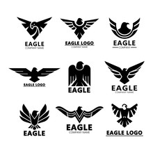 Black Eagles Silhouette For Co...