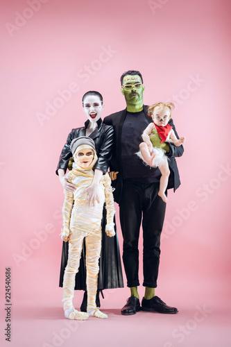 Fototapeta Halloween Family