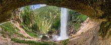 Pericnik Wasserfall Im Triglav...