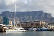Blick von Waterfront auf Tafelberg