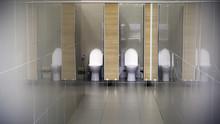 Public Toilet In An Public Building Public Toilet In An Public Building