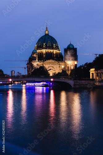 Photo  Berlin at night