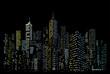 night city color windows