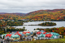 Mont Tremblant Village At Fall...