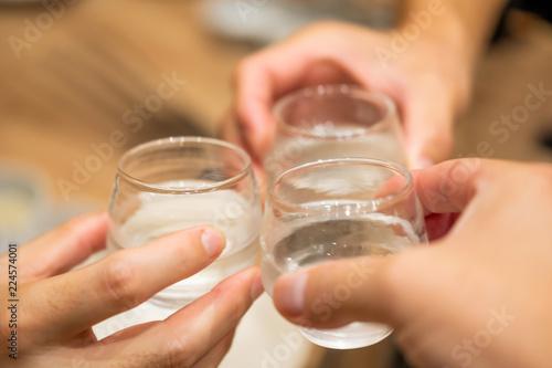 乾杯・日本酒