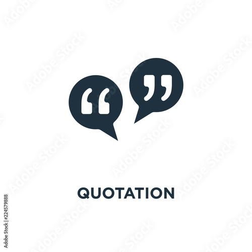 Fotografía  Quotation icon