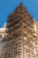 Construction Scafold To Restor...