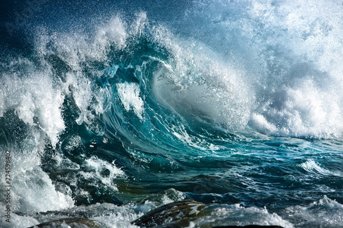 Canvas Ocean wave