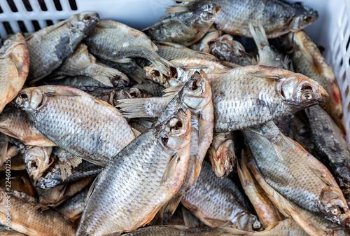 Foto op Aluminium Vis Tasty different dried fish