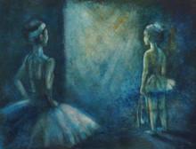 Little Girl Ballet Dancer. Han...