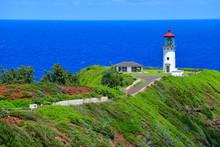 Kilauea Lighthouse, Kauai, Haw...