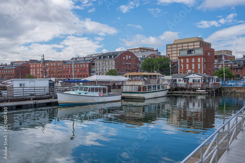 Fotomural Portland Maine Waterfront